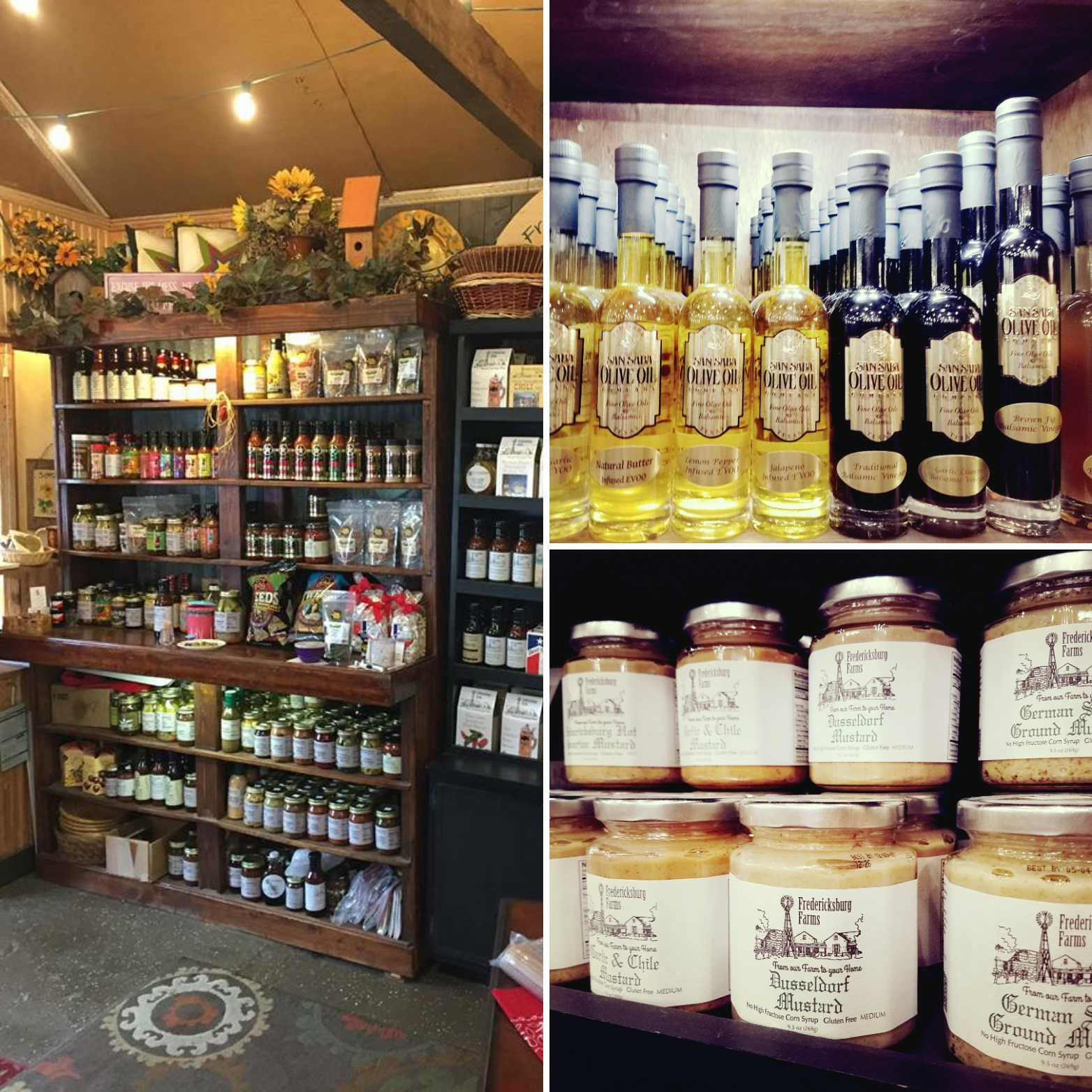 Images: My own and  Texas Gourmet Pantry