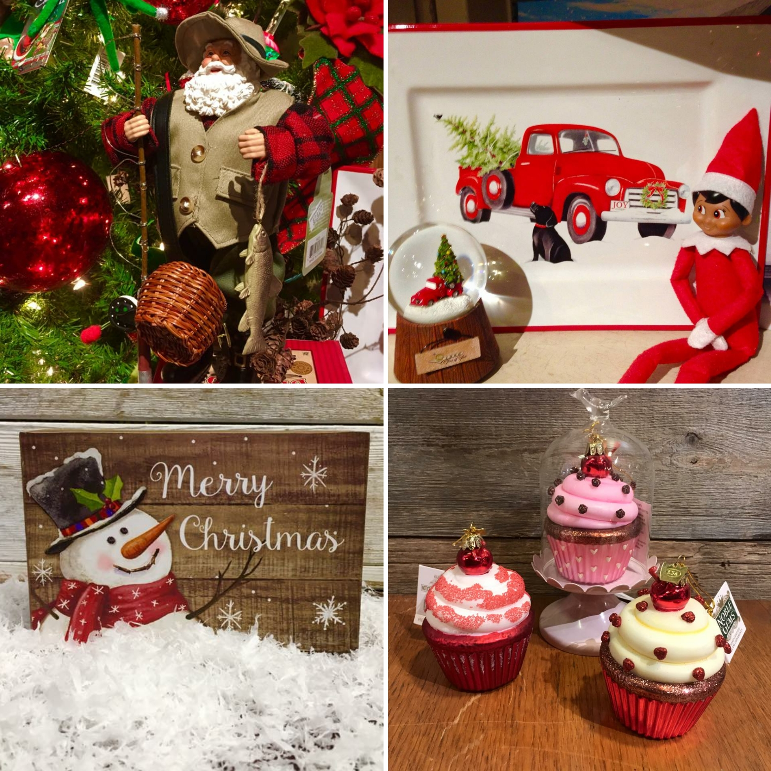 Images:  The Christmas Shoppe
