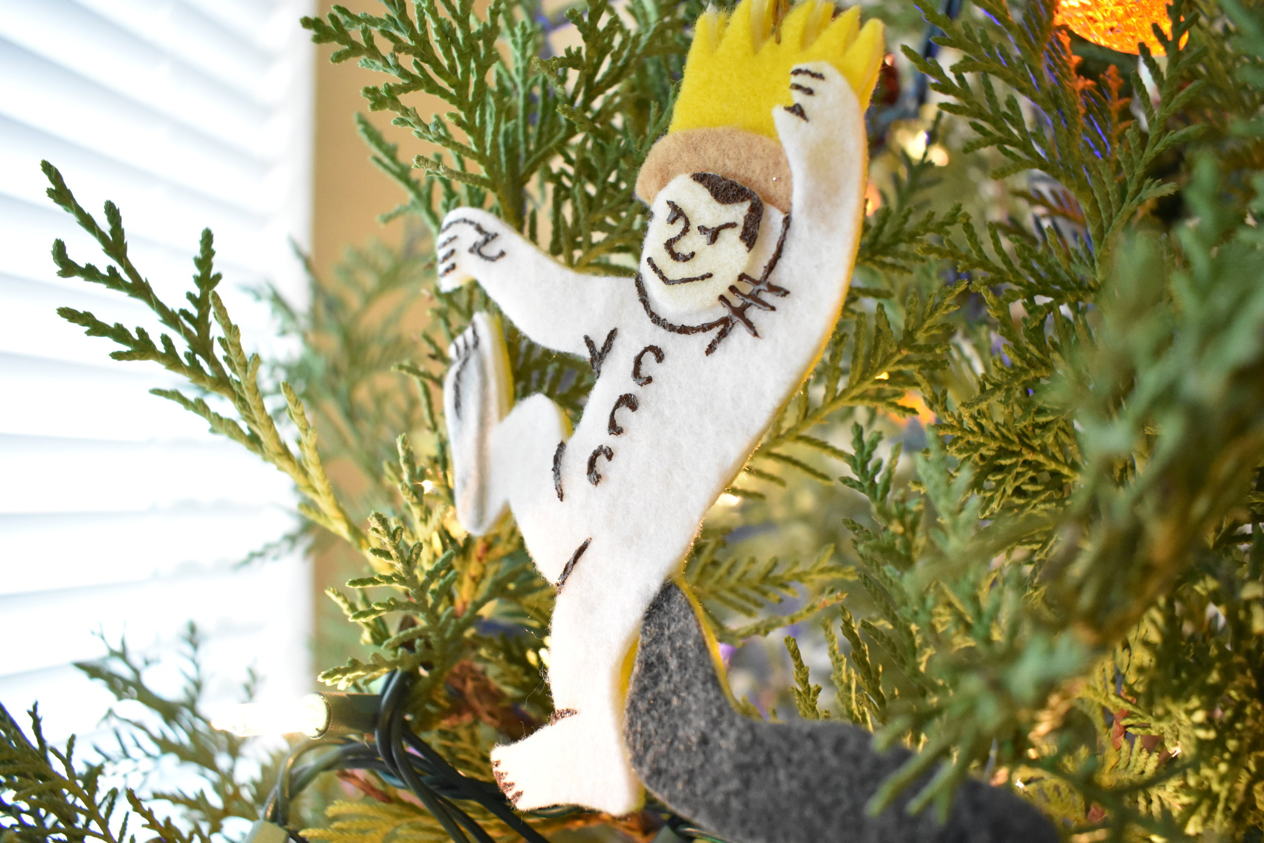 """Big Boy's very first Christmas ornament; he had a """"Where the Wild Things Are"""" nursery!"""