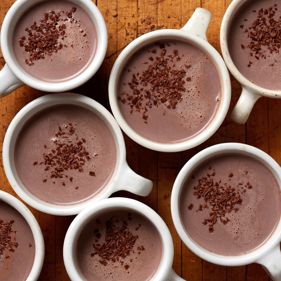 Red Wine Hot Chocolate from  Eating Well