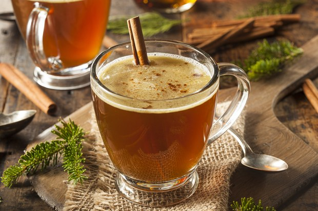 Hot Buttered Rum from  Epicurious
