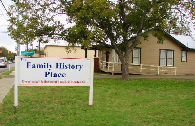 Family History Place, Boerne, Texas  Image Source