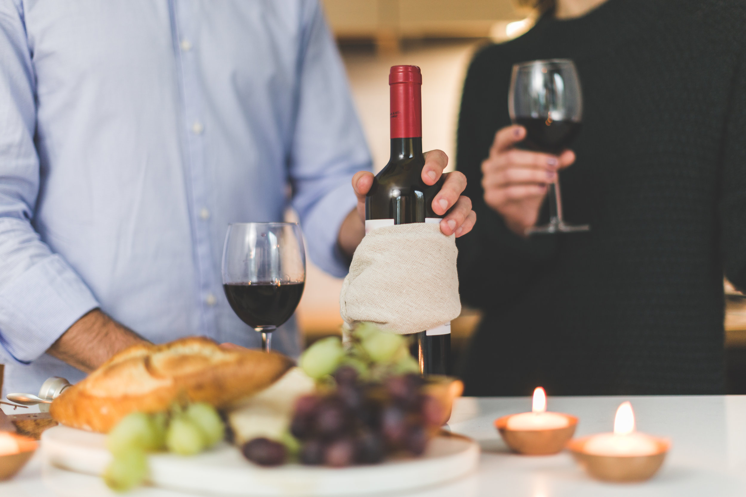 beer or wine tasting date night at home valentine's day