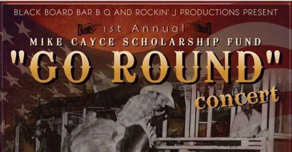 Photo courtesy of  The Mike Cayce Scholarship Fund and Blackboard Bar B Q