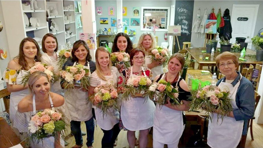 """""""Blooms for Boerne"""" at Maker's Place: the one that started it all!"""
