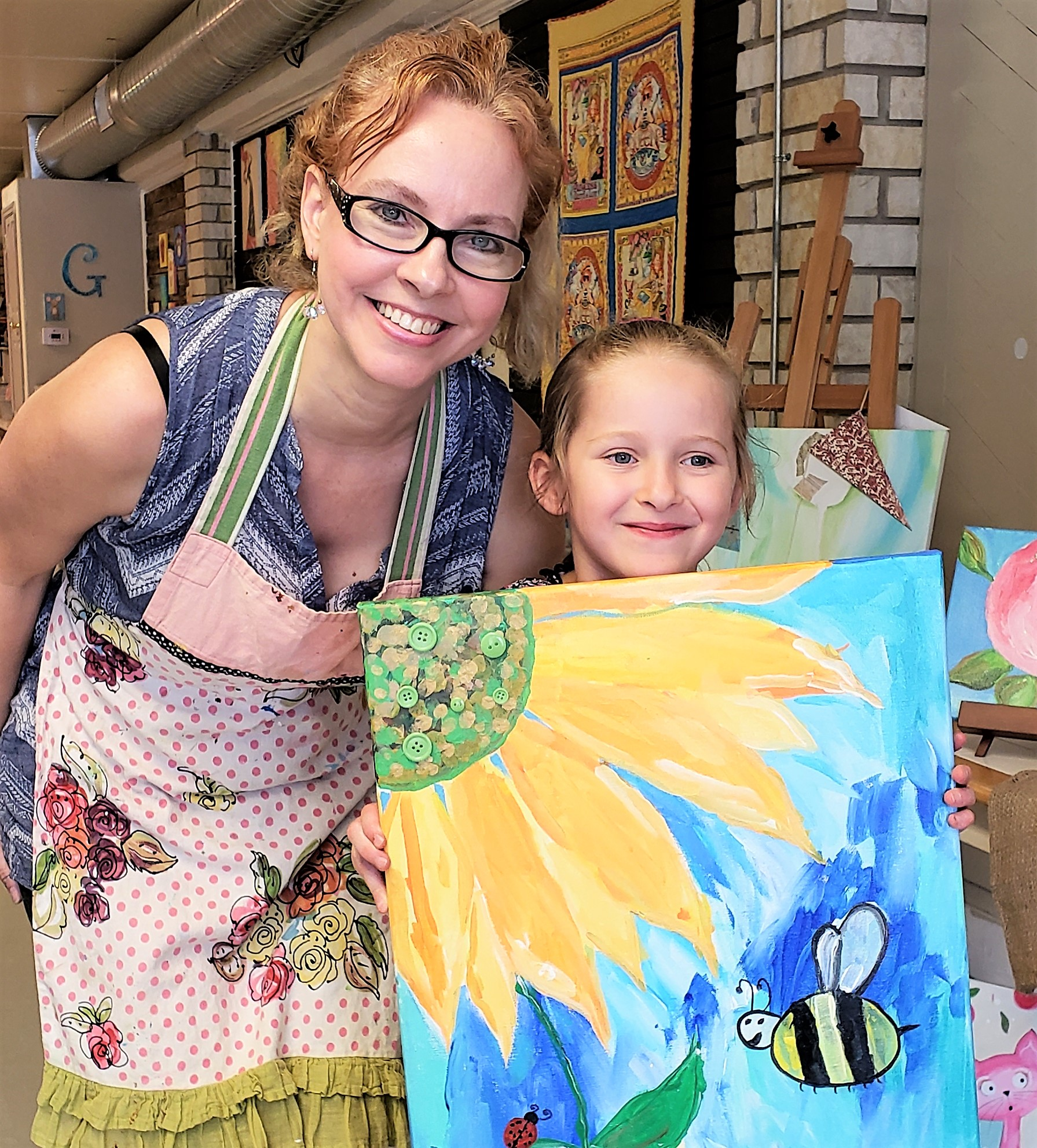 gina marie's art studio boerne gina reese sowing seeds blog