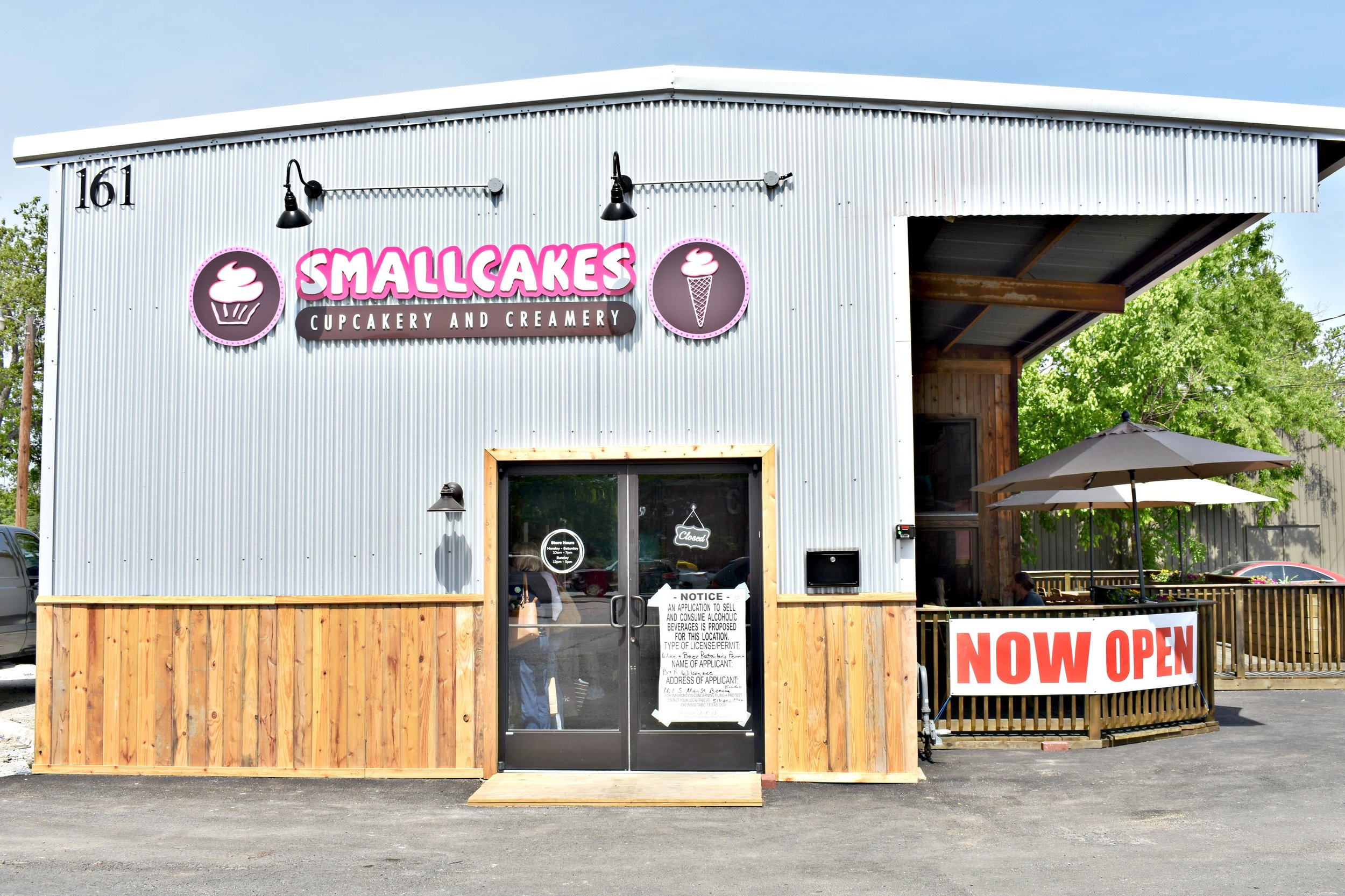 smallcakes cupcakery & creamery boerne texas sowing seeds blog
