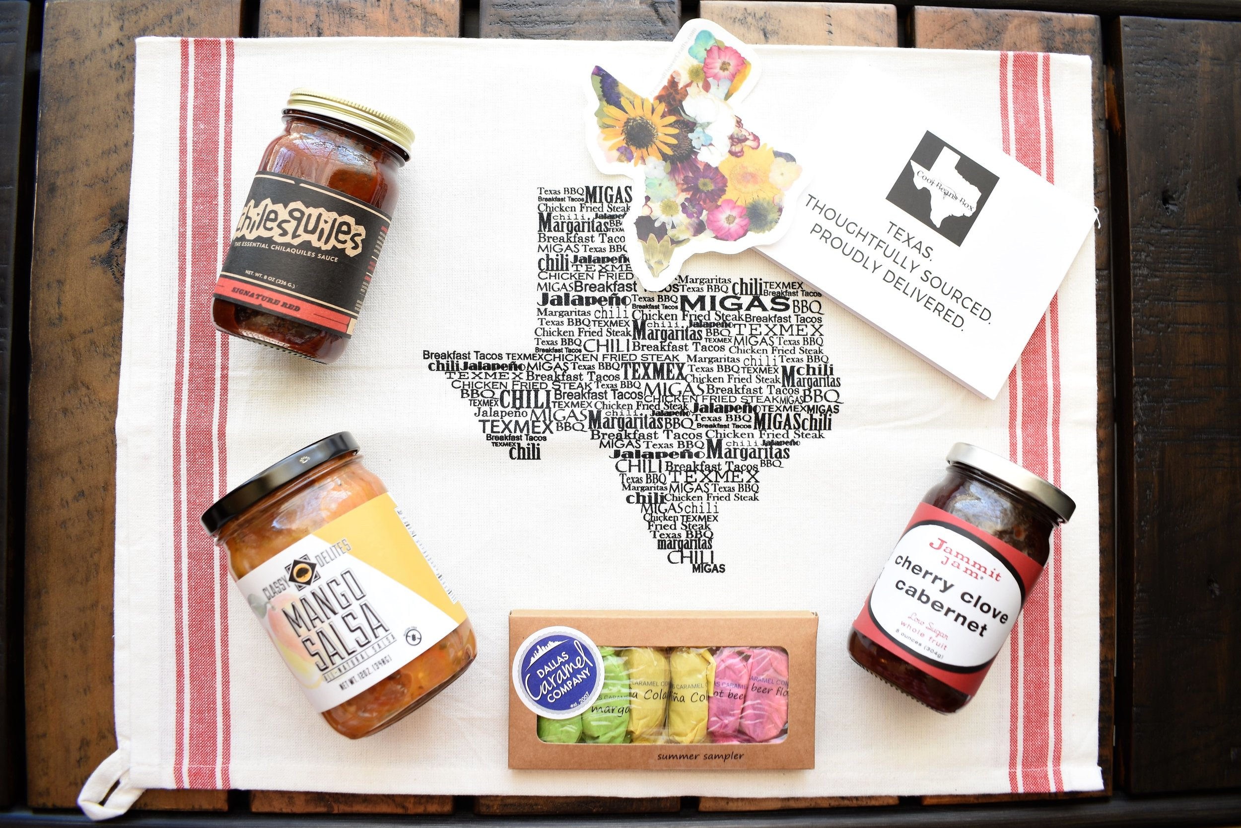cool beans box texas subscription gift box review sowing seeds blog