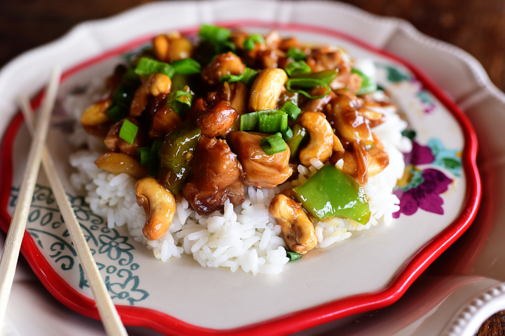 CASHEW CHICKEN LOW CARB DINNER RECIPE