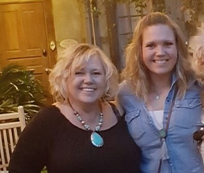 Kathy Burch, Owner, Vintage Market Days of Greater San Antonio, with her daughter and General Manager, Shauna Wardlaw