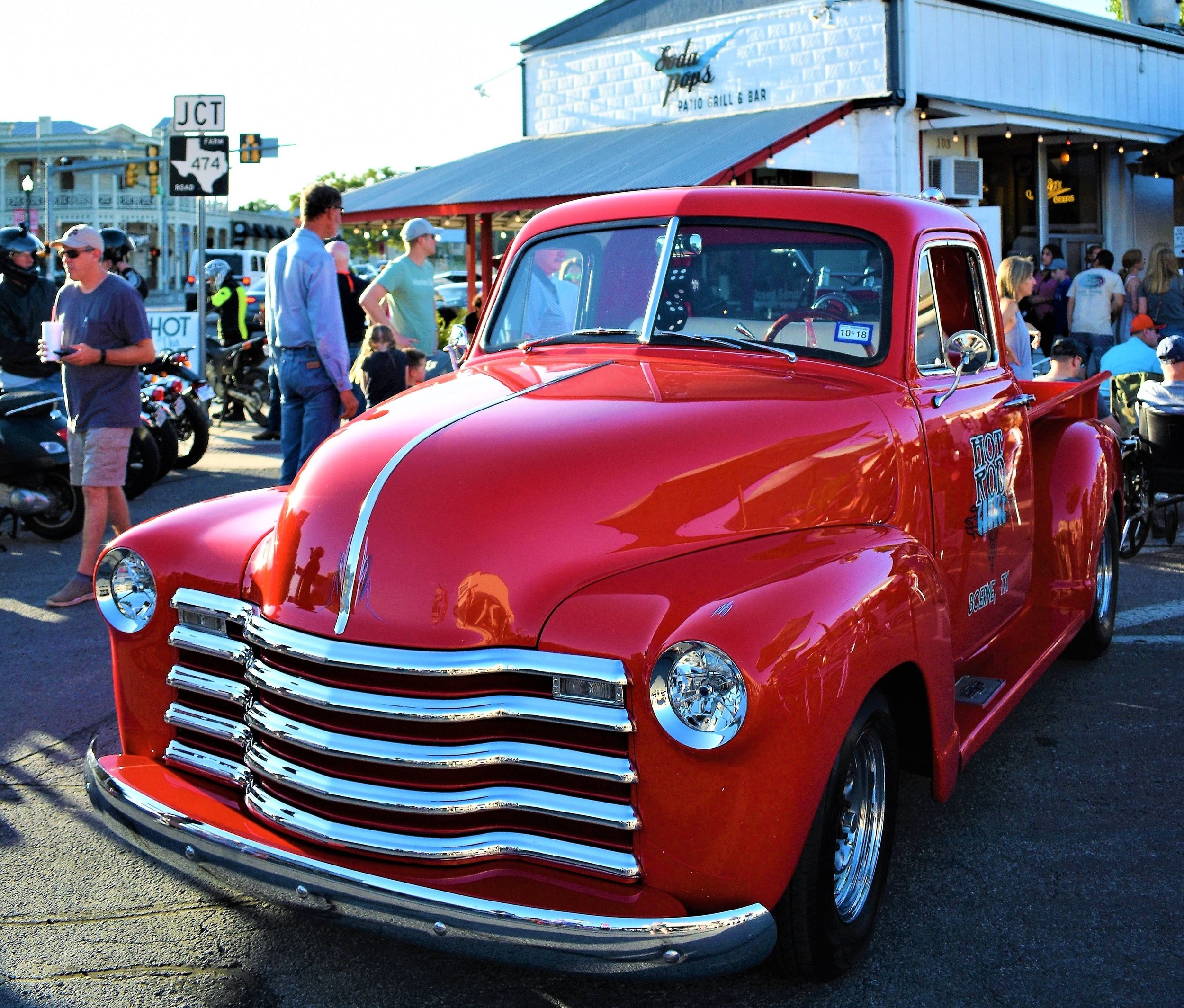 hot rod night at soda pop's boerne texas sowing seeds blog