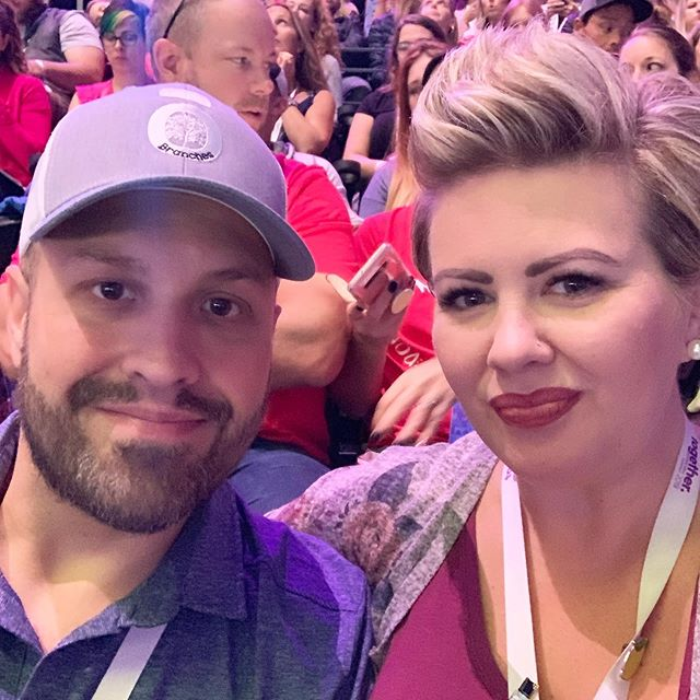 "We just returned from an amazing week in Salt Lake City. . . . My brain is on overload because of all the science and amazing products dōTERRA released while we were there. It's so 👏🏻 exciting👏🏻 the things that are coming down the pipe for your health and wellness. . . . One thing I keep reflecting on is how GRATEFUL I am for dōTERRA, for the amazing people who have said yes to dōTERRA and to us and to taking control of their health... but I'm also SO grateful for the struggles and the hard times that we have navigated and continue to go through. Those hard ""things"" are what makes me appreciate where we are and where we're going so much more. . . . Last week was FULL. I'm still processing.... and I'm also thrown back into life and kids and school and educating and travel and all. the. things. . . . Do you ever you feel like you need a vacation after a big trip? 🙋🏼‍♀️"