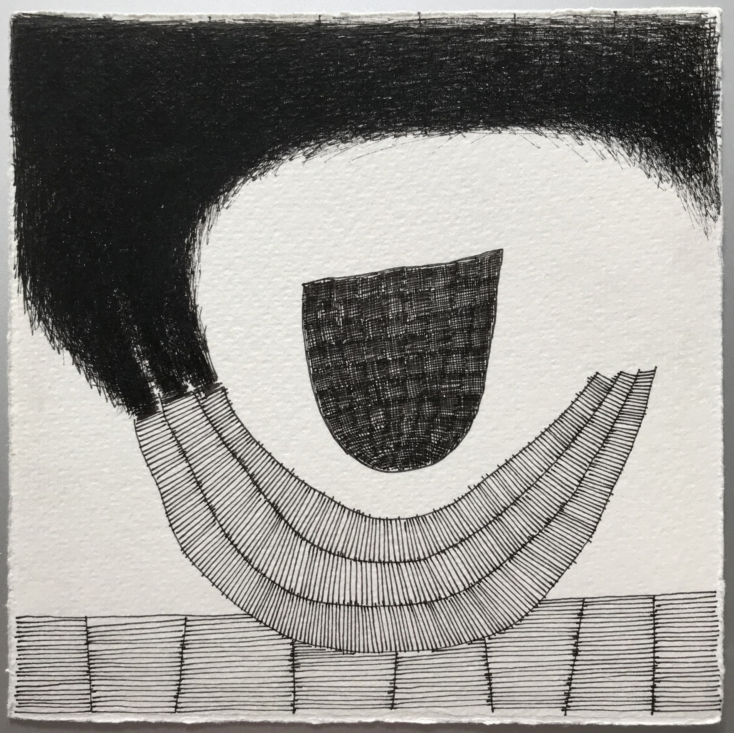 Pen & Ink on Fabriano