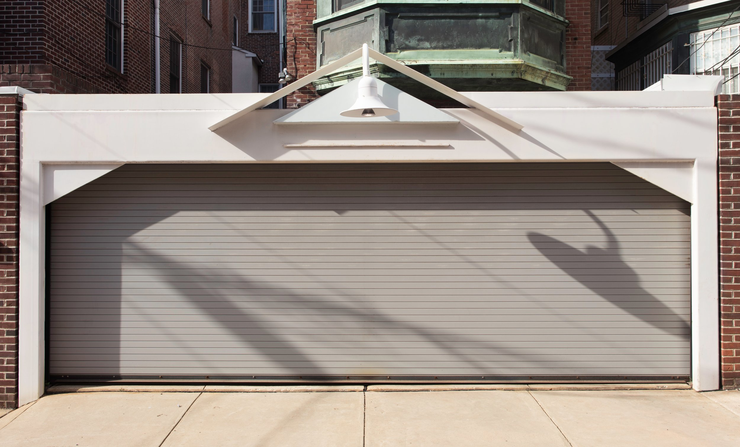 Garage Addition to Center City Delancy Street Town House, Philadelphia