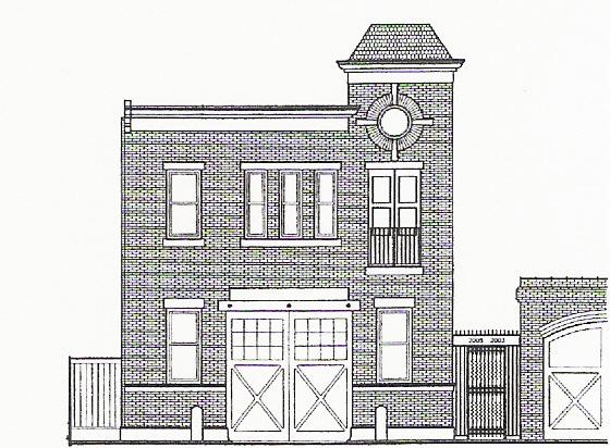 Restoration of Historic Carriage House, Cambridge Street, Philadelphia