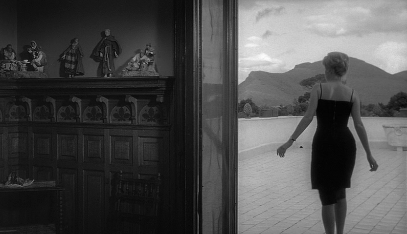 """L'avventura """"The Adventure"""" (1960) - A young woman disappears on a boat trip across the Mediterranean and during her absence a chemistry builds between her lover and her best friend."""