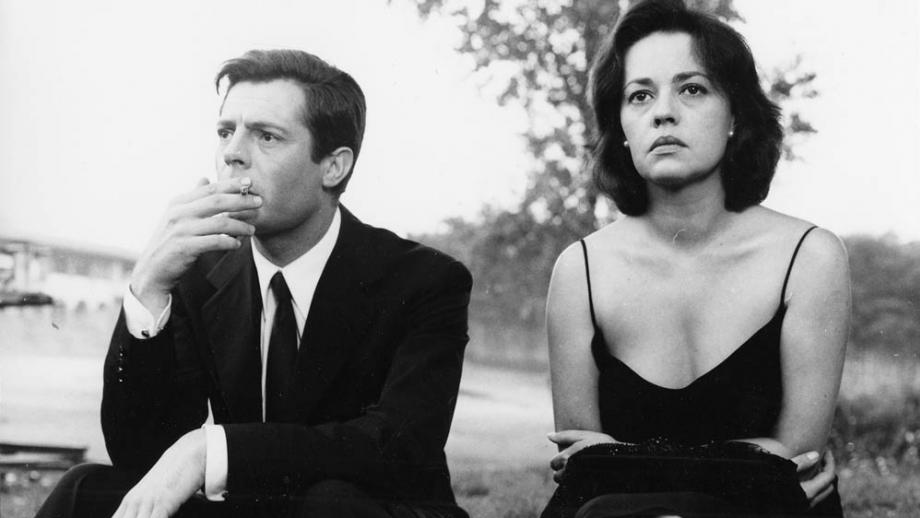 """La Notte """"The Night"""" (1961) - follows a day in the life of a couple's marriage that is falling apart."""