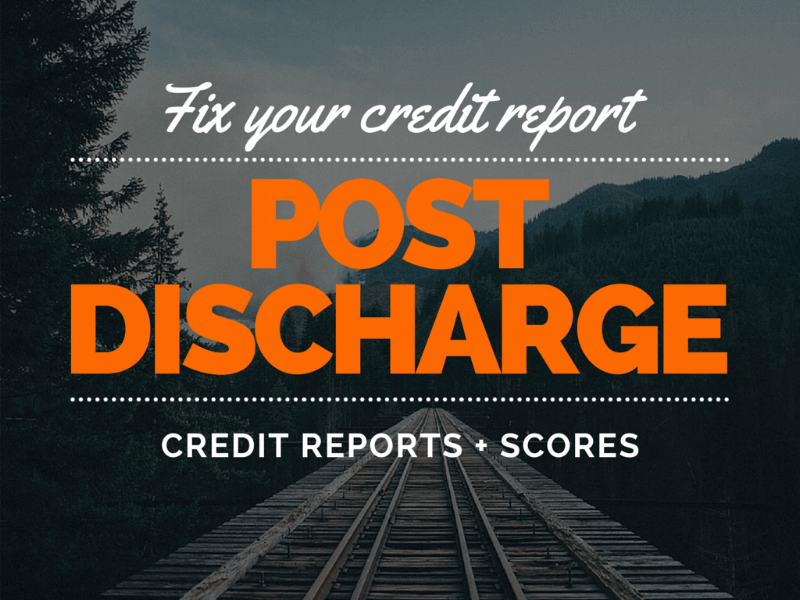 Your Credit Report After a Bankruptcy or Consumer Proposal