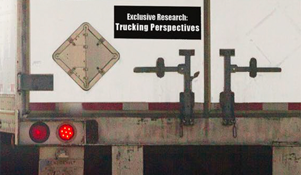 2017 Trucking Perspectives - Inbound Logistics' exclusive annual trucking market research report delivers shipper and trucker insights into industry challenges and trends.
