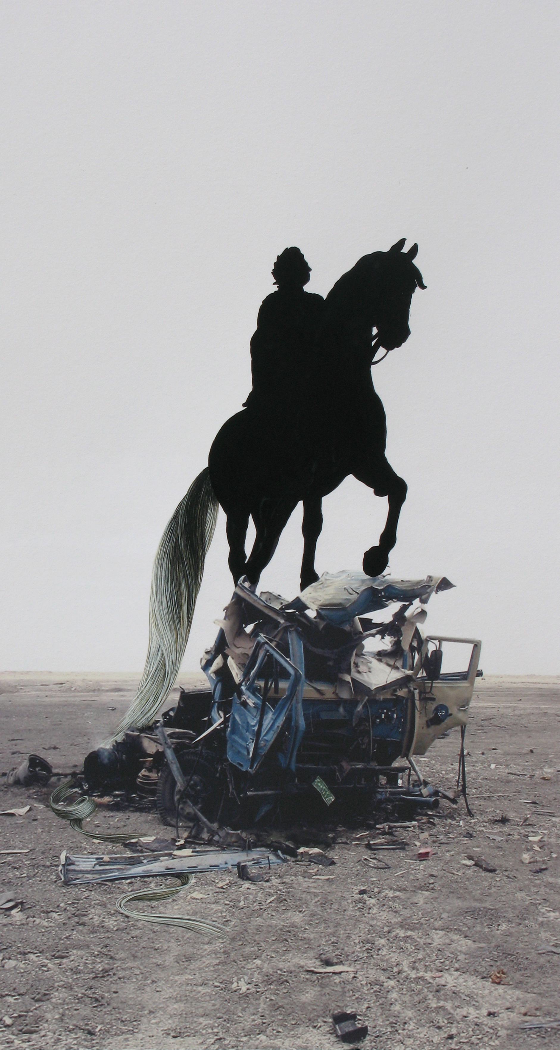 Equus: Iraq Truck Bomb with Frederik V, 2009