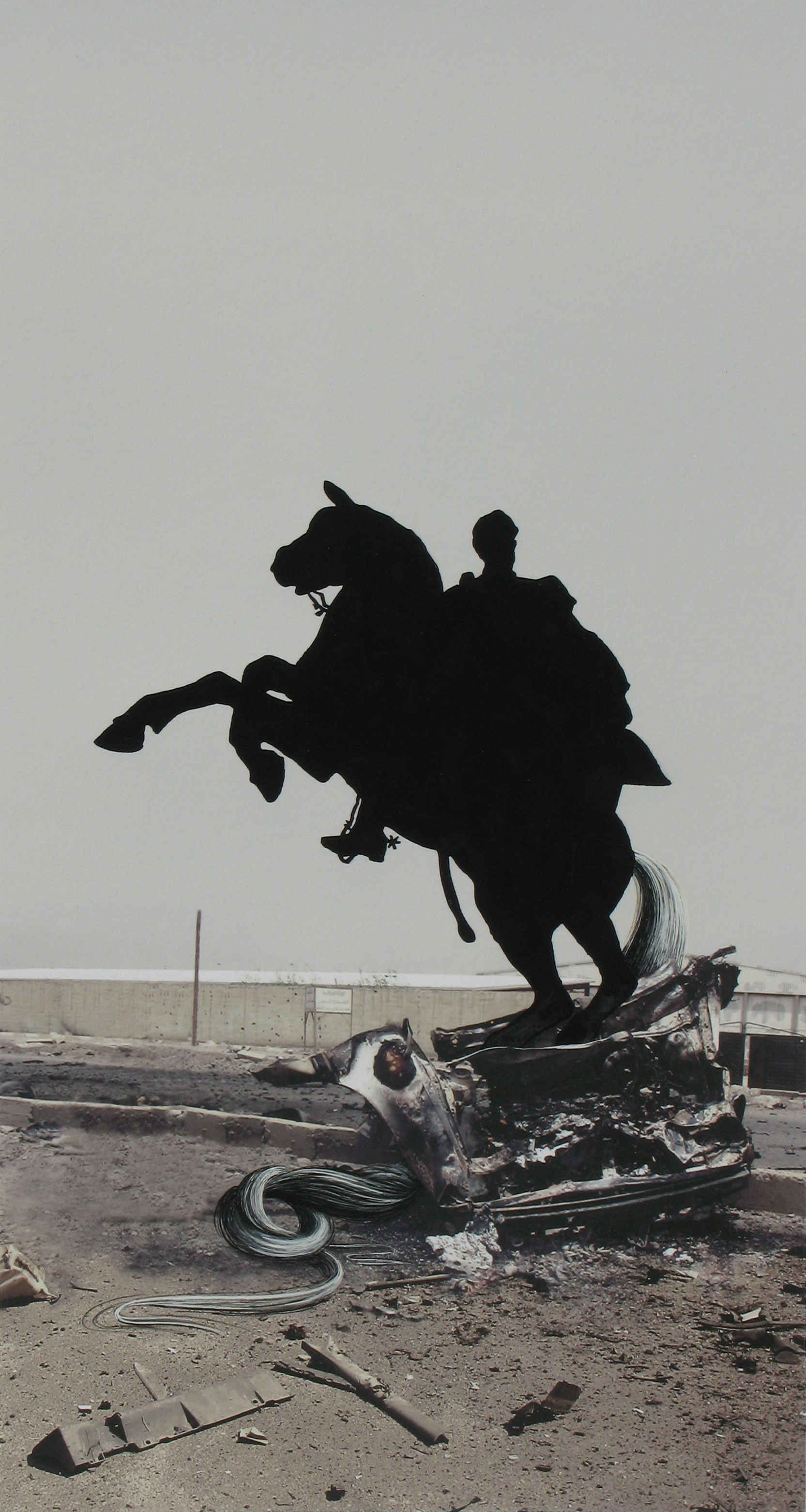 Equus: Iraq Car Bomb with Bolivar, 2009