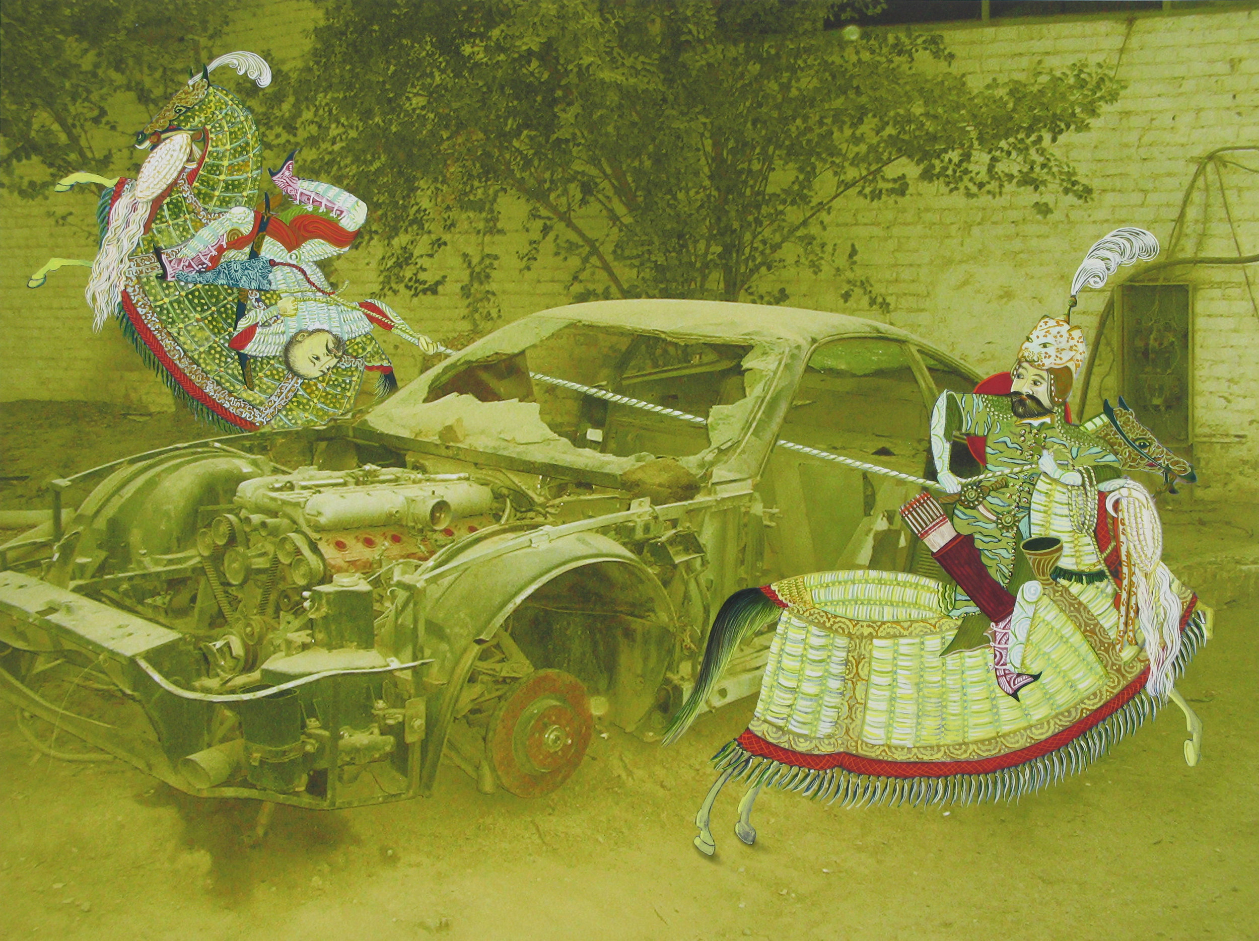 TUG OF WAR, 2009