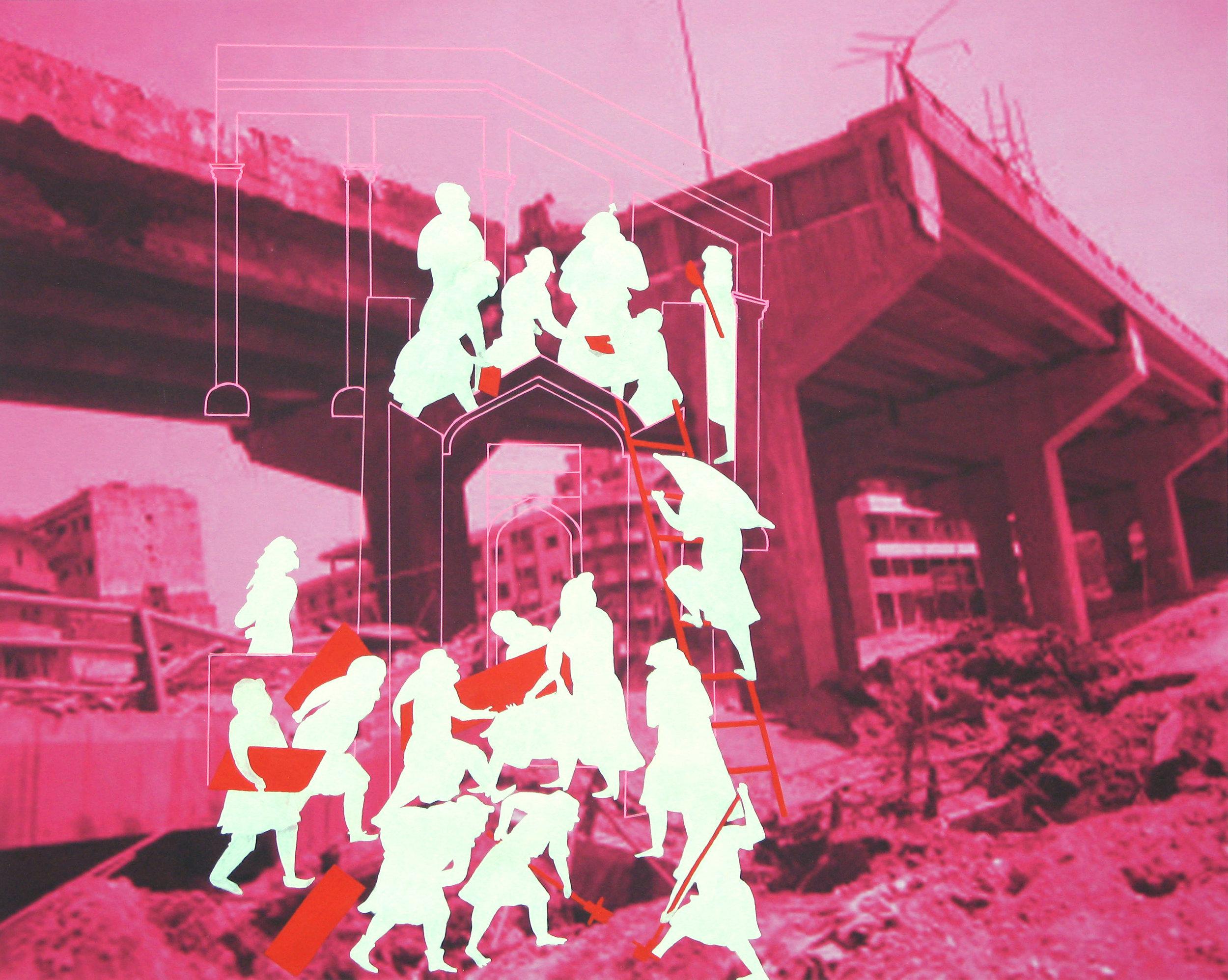 RECONSTRUCTION: MAGENTA BEIRUT, 2007