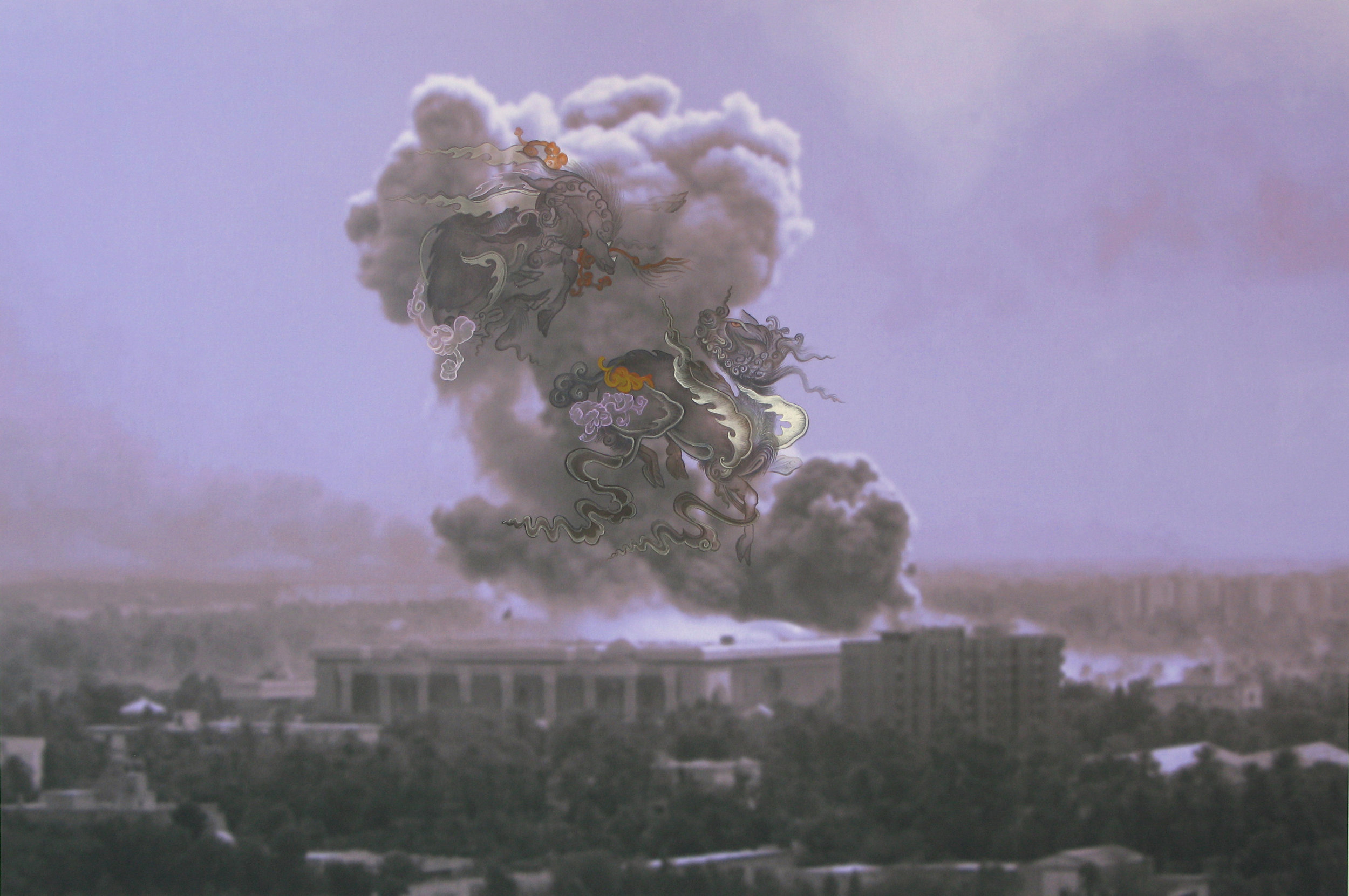 WRESTLING OVER RUIN, 2007