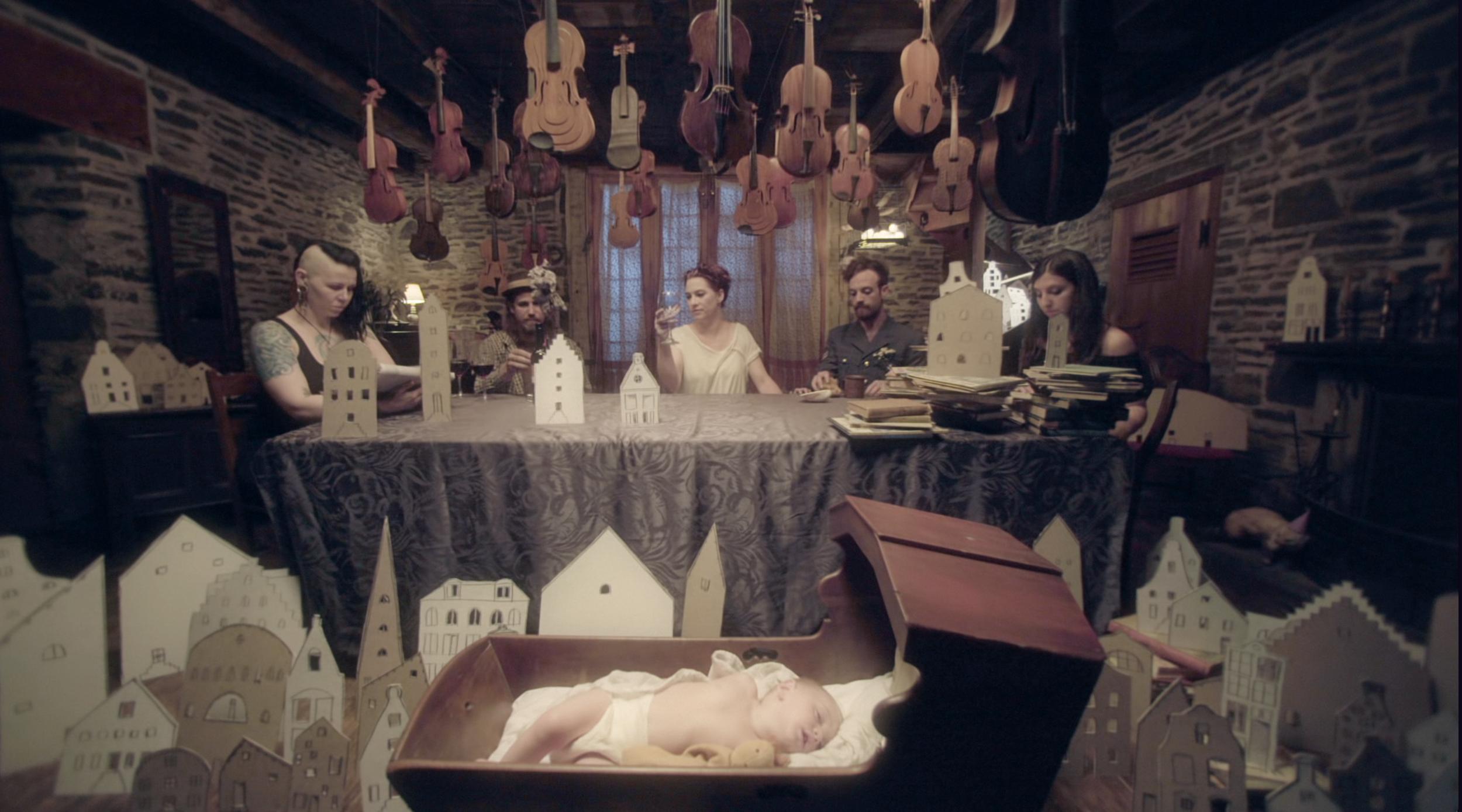 Wynken Blynken & Nod Music Video - Amanda palmer