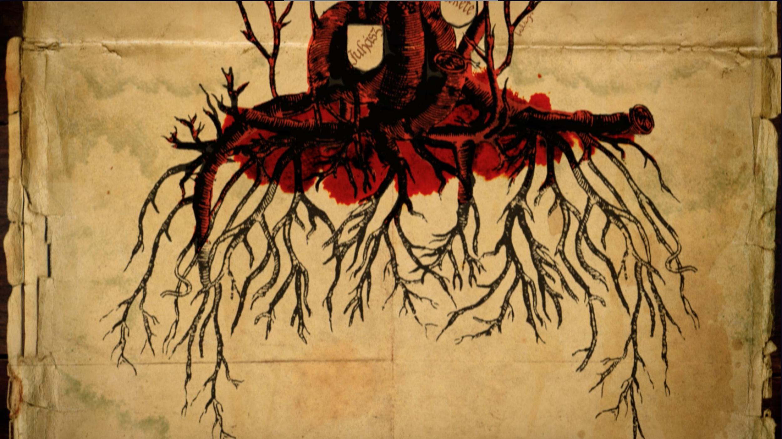 mulholland books teaser - Written in the blood