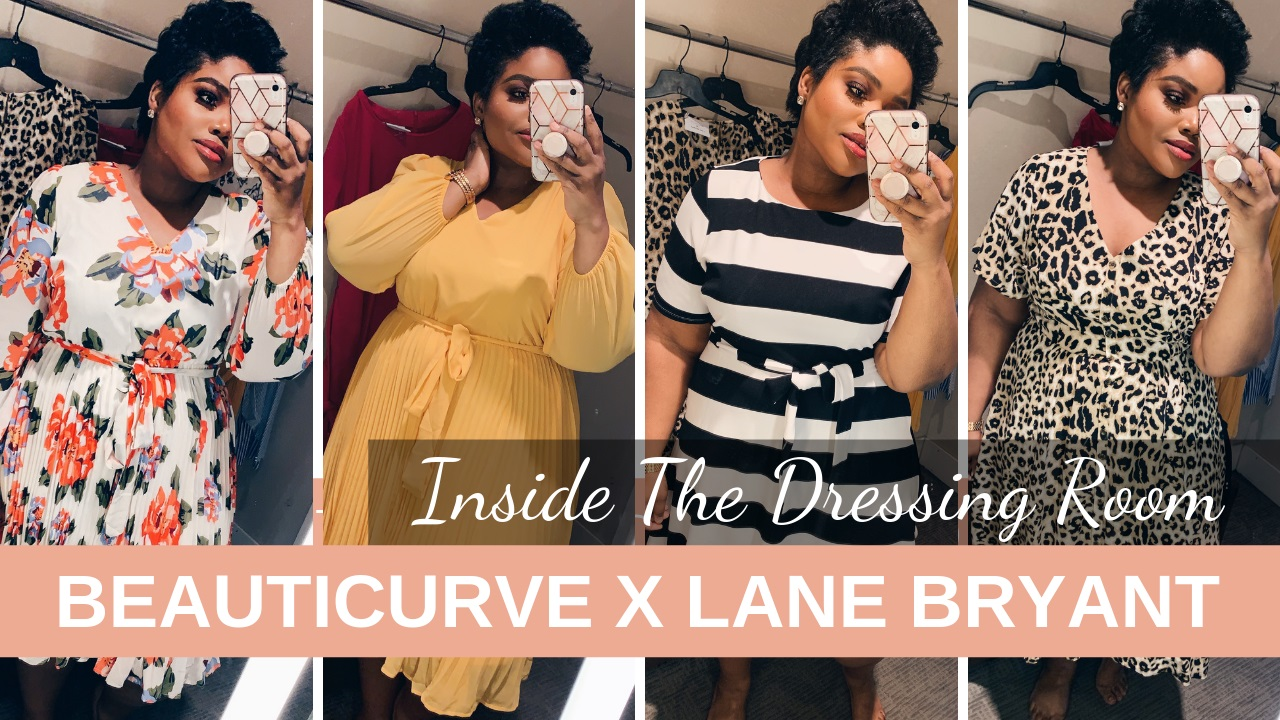 7dbb34c10 Come with me inside the dressing room as I tried on the majority of the  highly anticipated Beauticurve x Lane Bryant Collection!