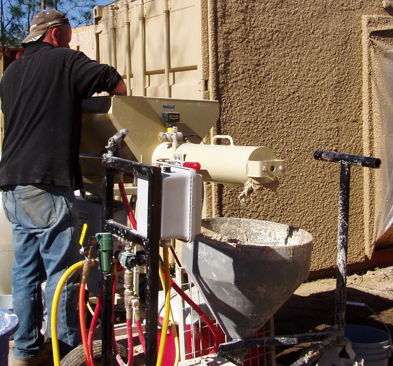 RimCaster+continuous+feed+concrete+mixer