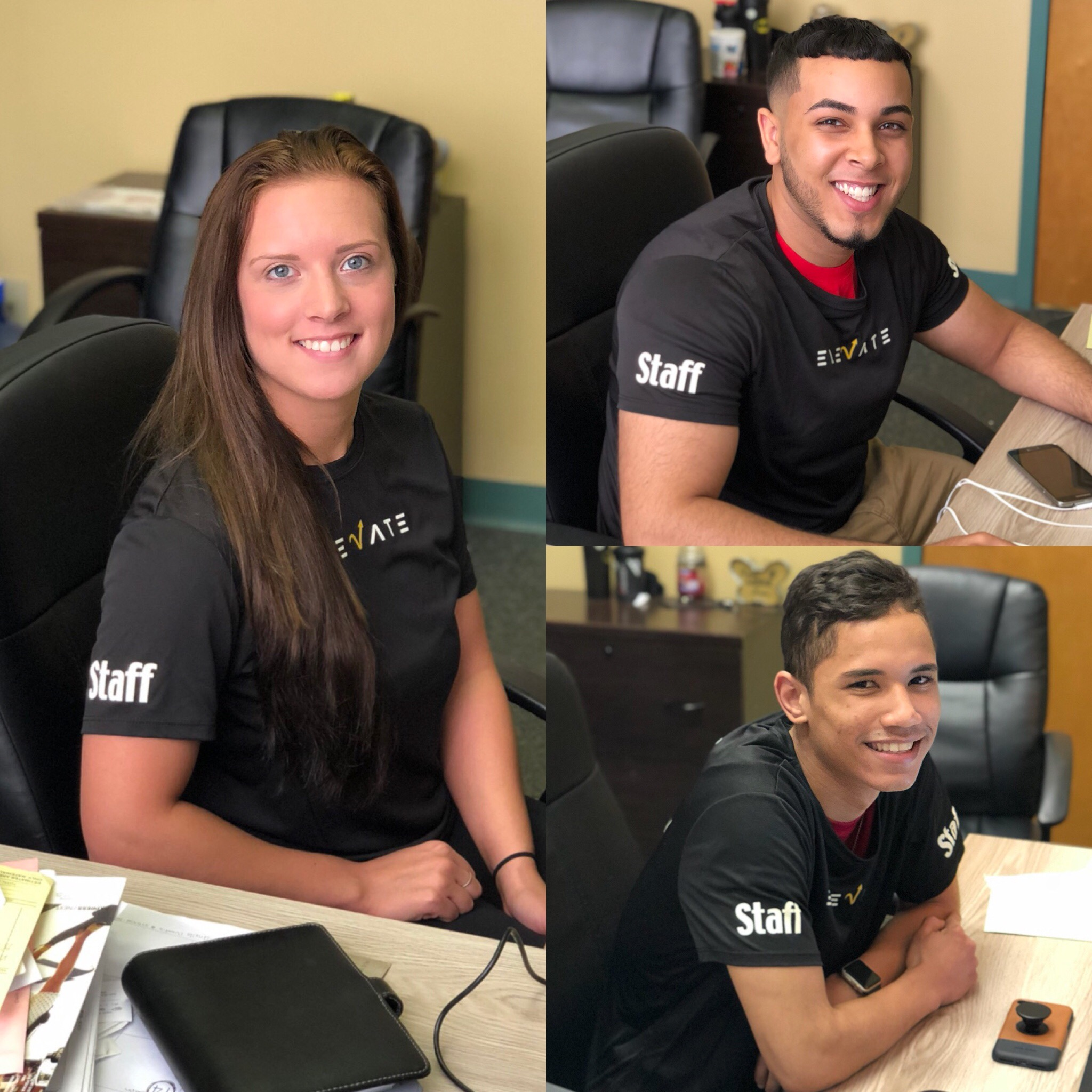 Our Member Services Representatives: Holly, Luis, & Joimy