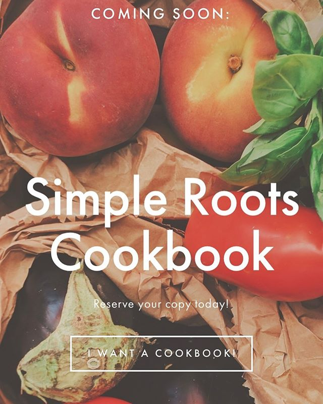 Yep. That's right! Simple Roots #cookbook #comingsoon 🎉🙏 Stay tuned for pre-ordering options! This cookbook will be filled with all of our Simple Roots recipes - paleo, whole30, and keto friendly! Every recipe option is dairy and gluten free. We hope you are as excited as we are. 😉 • • • #farmtofork #eattherainbow #simpleroots #rooted #simplerootsmealdelivery #healthyliving #Cleaneating #glutenfree #dairyfree #paleo #whole30 #simplerootsmeals #nutrition #detox #instafood #foodies #food #local #fitfam #fitness #organic #mealdelivery #midwest #healthymidwest #eatwell #keto #ketomeals