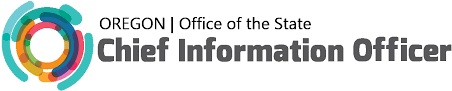 Logo for the Oregon, Office of the State, Chief Information Officer.