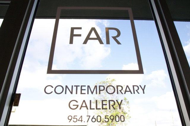 FAR Gallery:indoor space