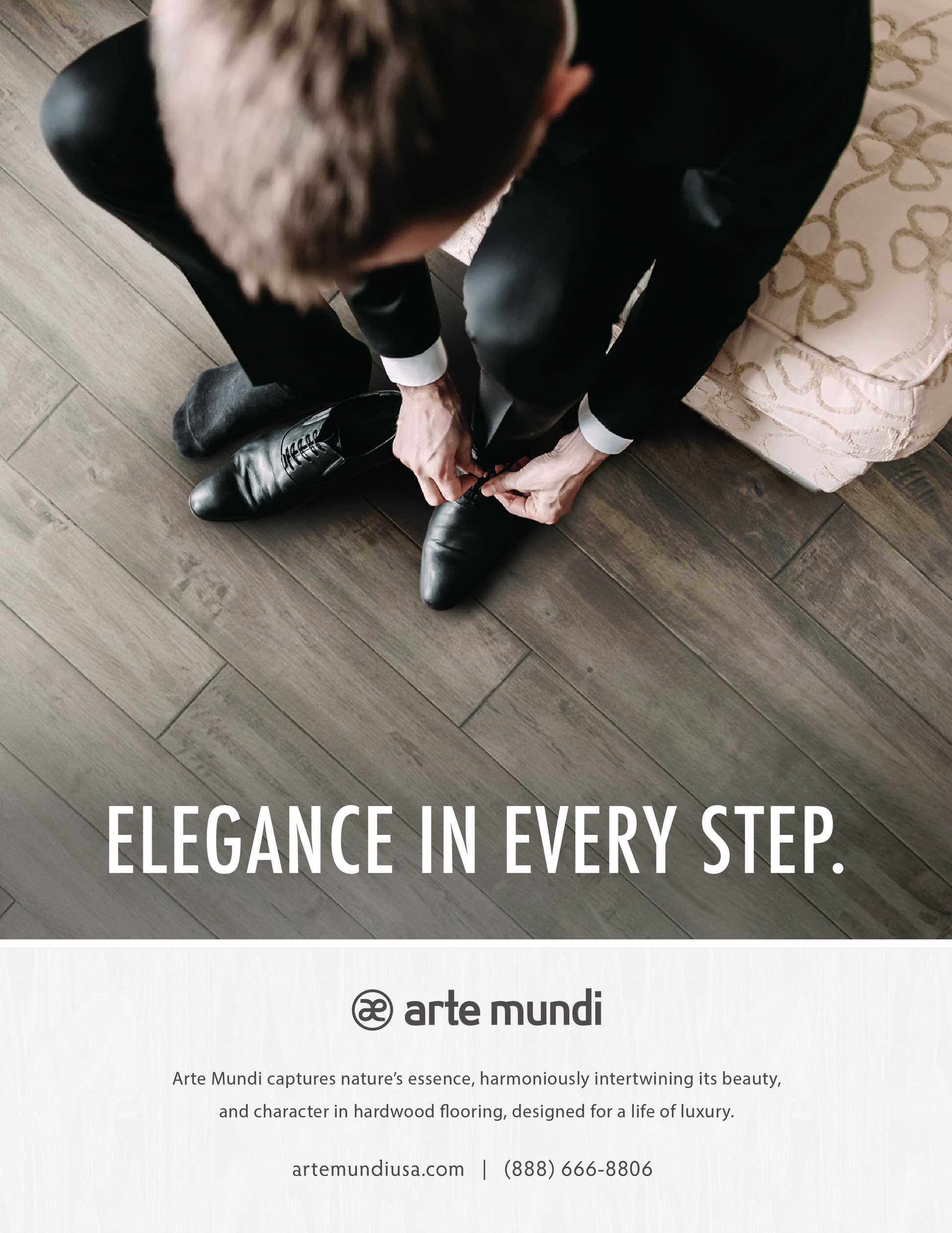 In this month's issue of Floor Covering News, We featured our Arte Mundi flooring in action.