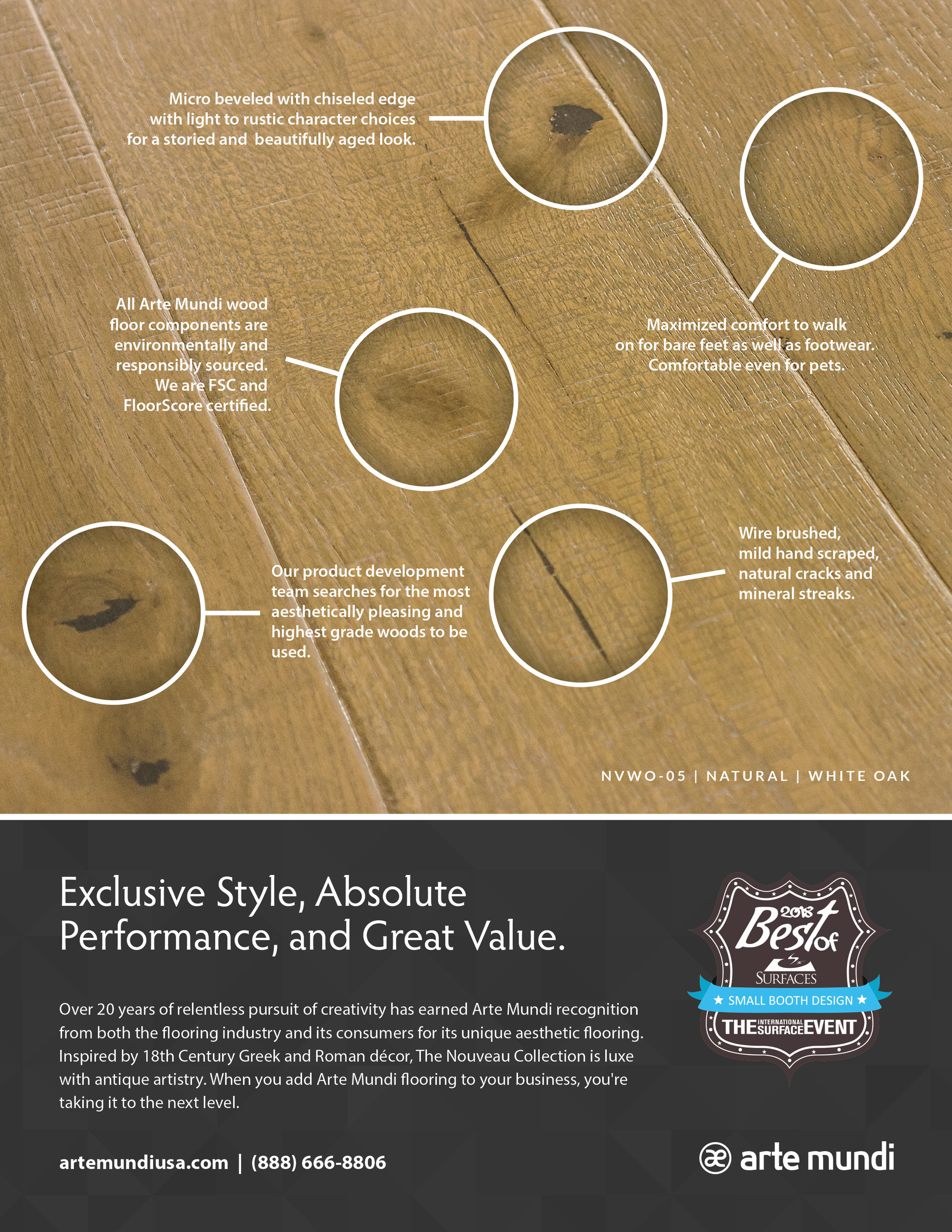 In this month's issue of Floor Covering News, we featured the specifics of our product that make Arte Mundi stand out from the rest.