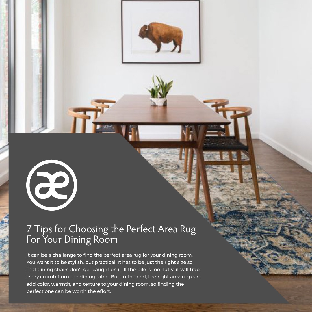 Perfect Area Rug for Your Dining Room