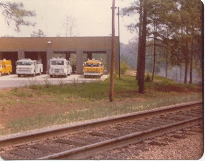 Circa1980's at the old Harbison Blvd. station.