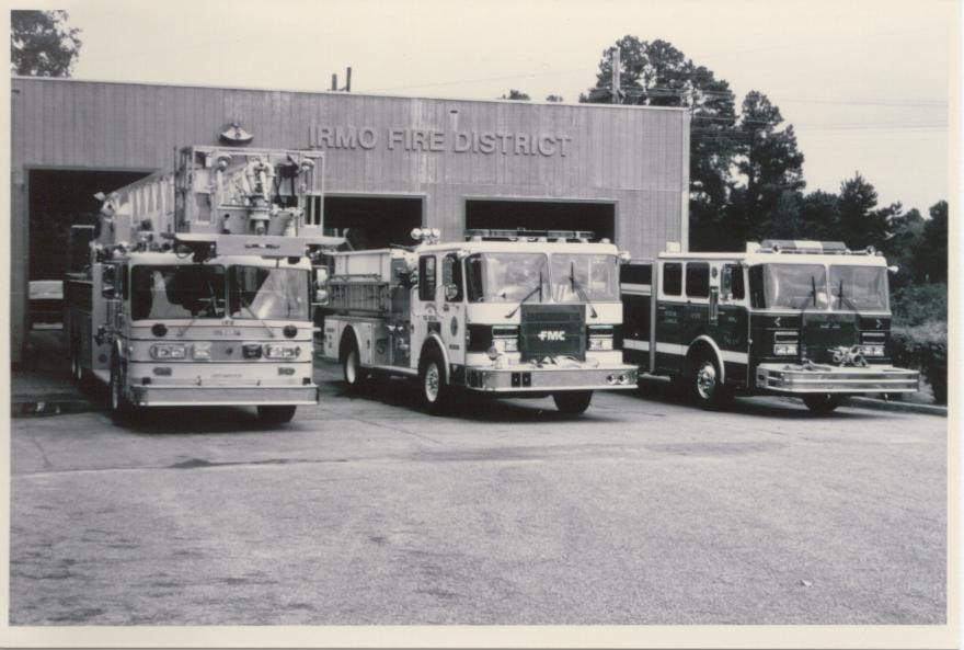 Circa 1990's at the old Harbison Blvd. station.