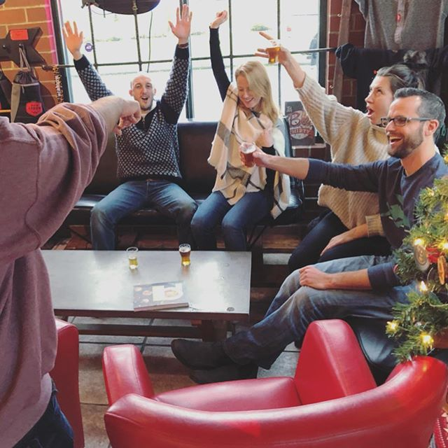 This could be you! Join us for beer trivia this Sunday at 5:30 and show us your mad beer knowledge! Enter your team of three or ride solo. Just $10 per person! Don't miss it - there's prizes to be won and beer to be drunk! See you here! . . #fallinlovewithbeer #beertrivia #sundayfunday #weekendplans #redarrowbeer #showusyourskillz #knowledgebombs #winnerwinnerchickendinner #trivianight #cowichanvalley #redarrowbeer
