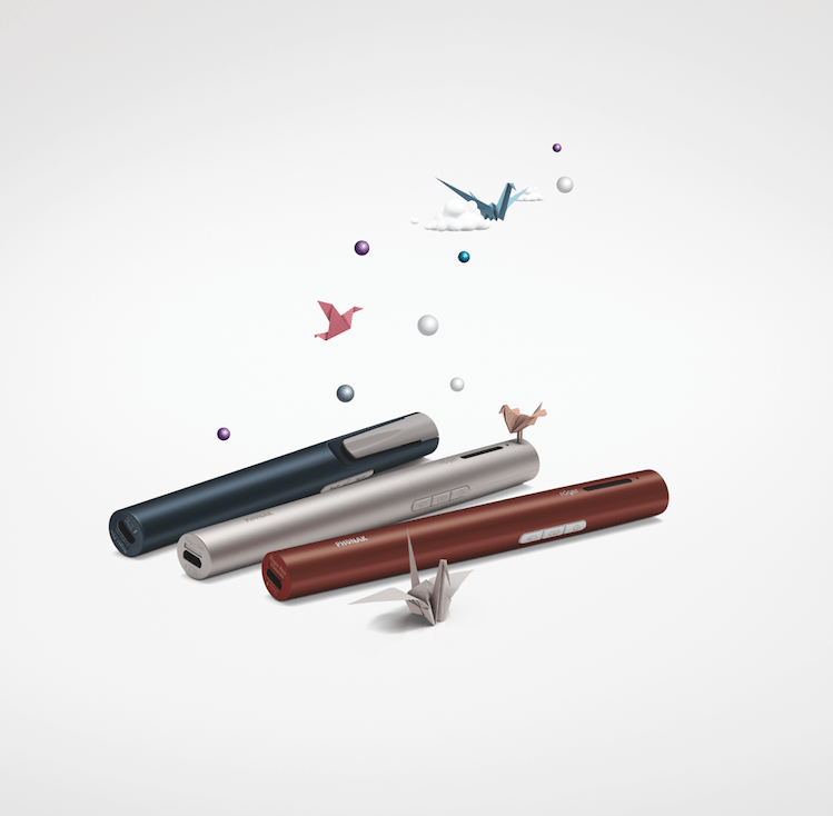 Phonak Roger Pen in three colors