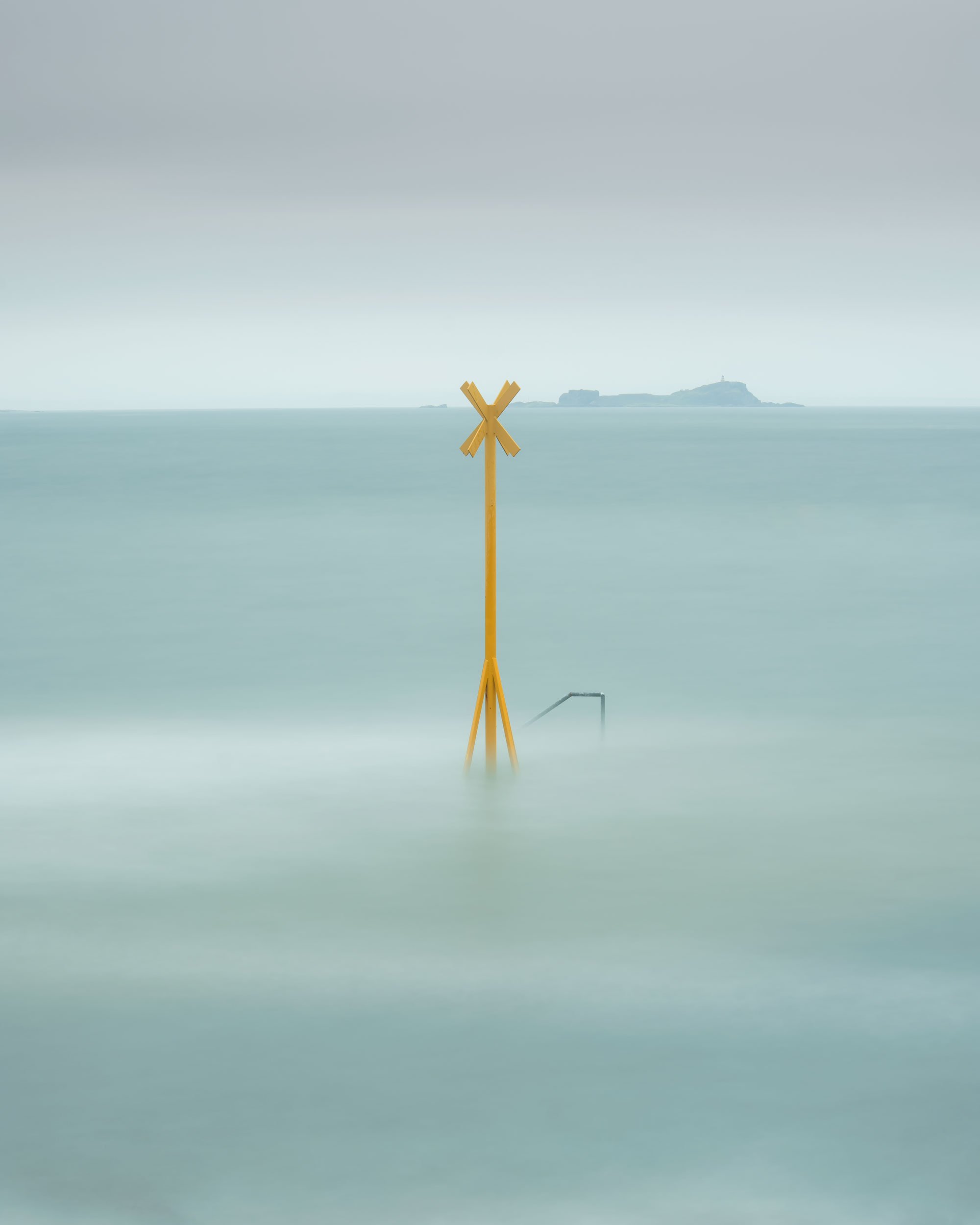 Aquamarine. One minute thirty in the cold and rain to capture one of my favourite images.