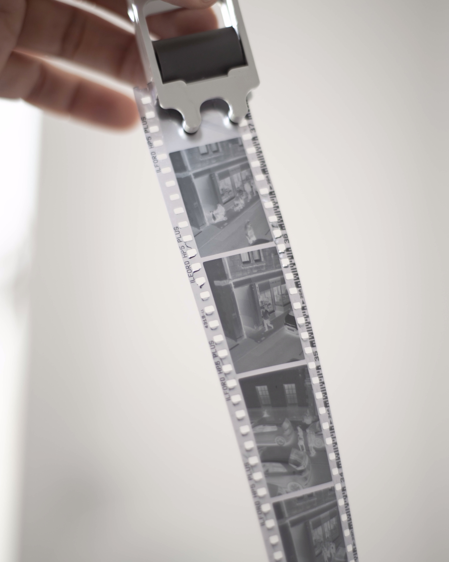 The first roll. Ilford HP5 Plus 400 shot on a Voigtländer Vitoret.