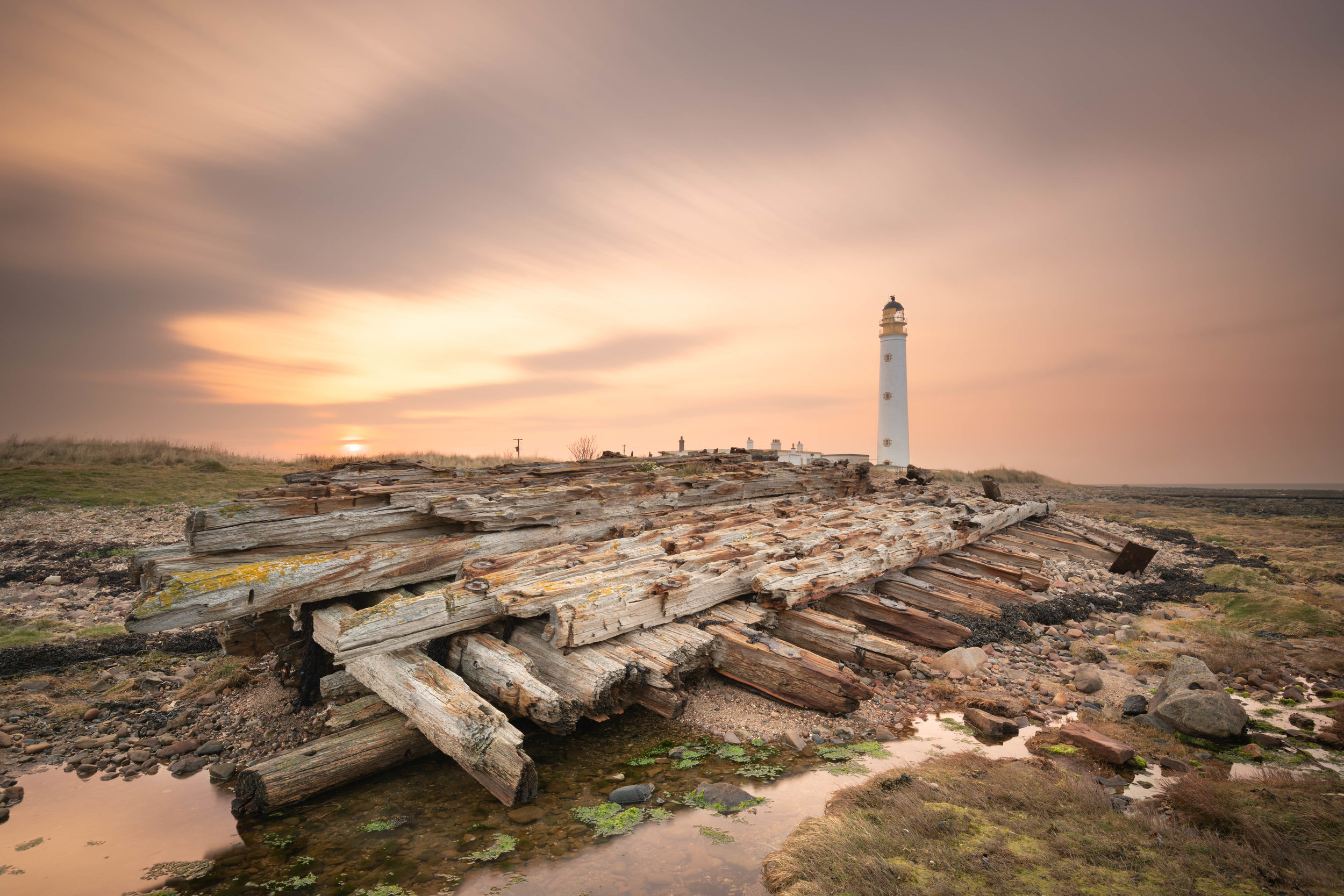 The Lighthouse & The Wreck