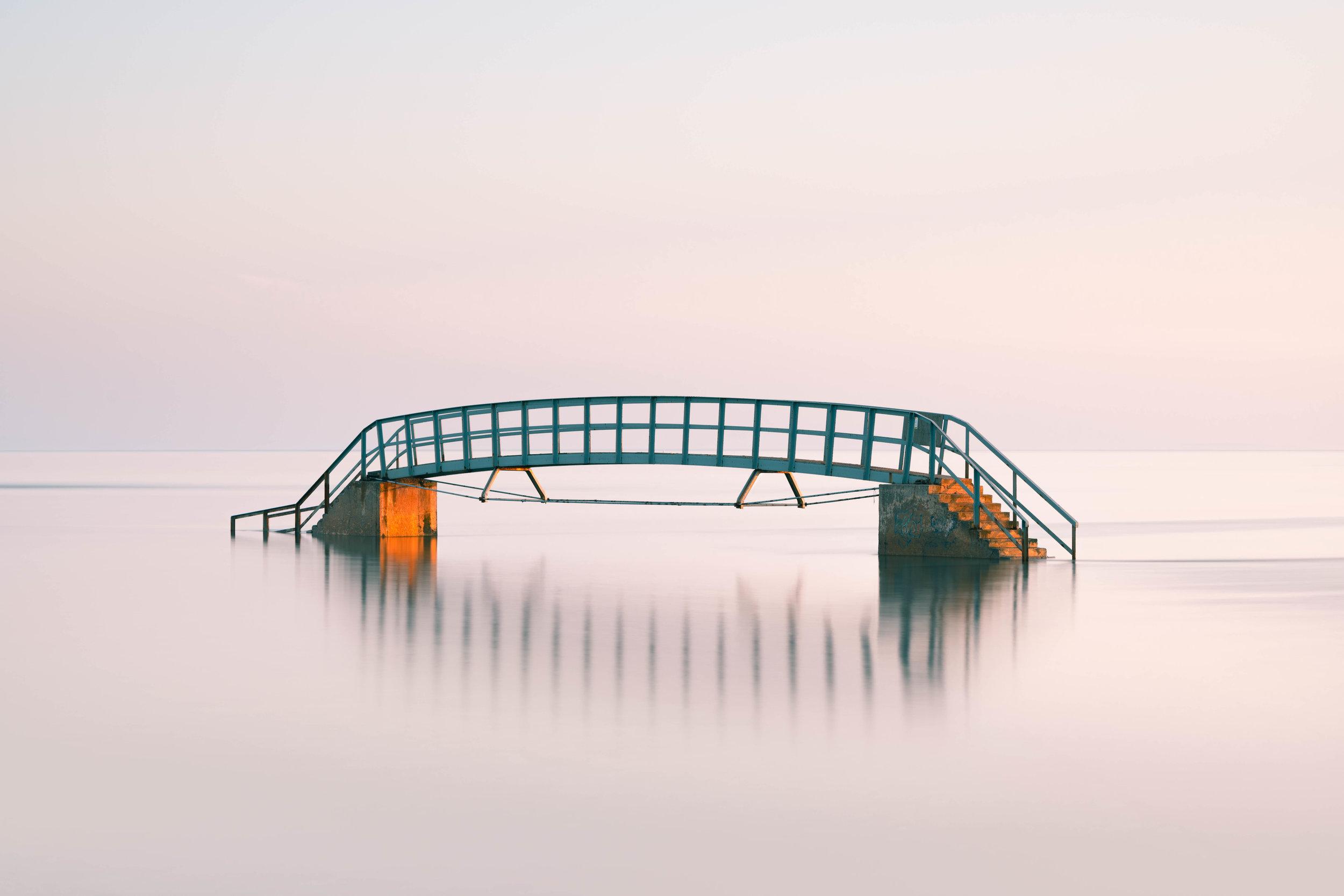 Bridge To Nowhere Spring Sunrise