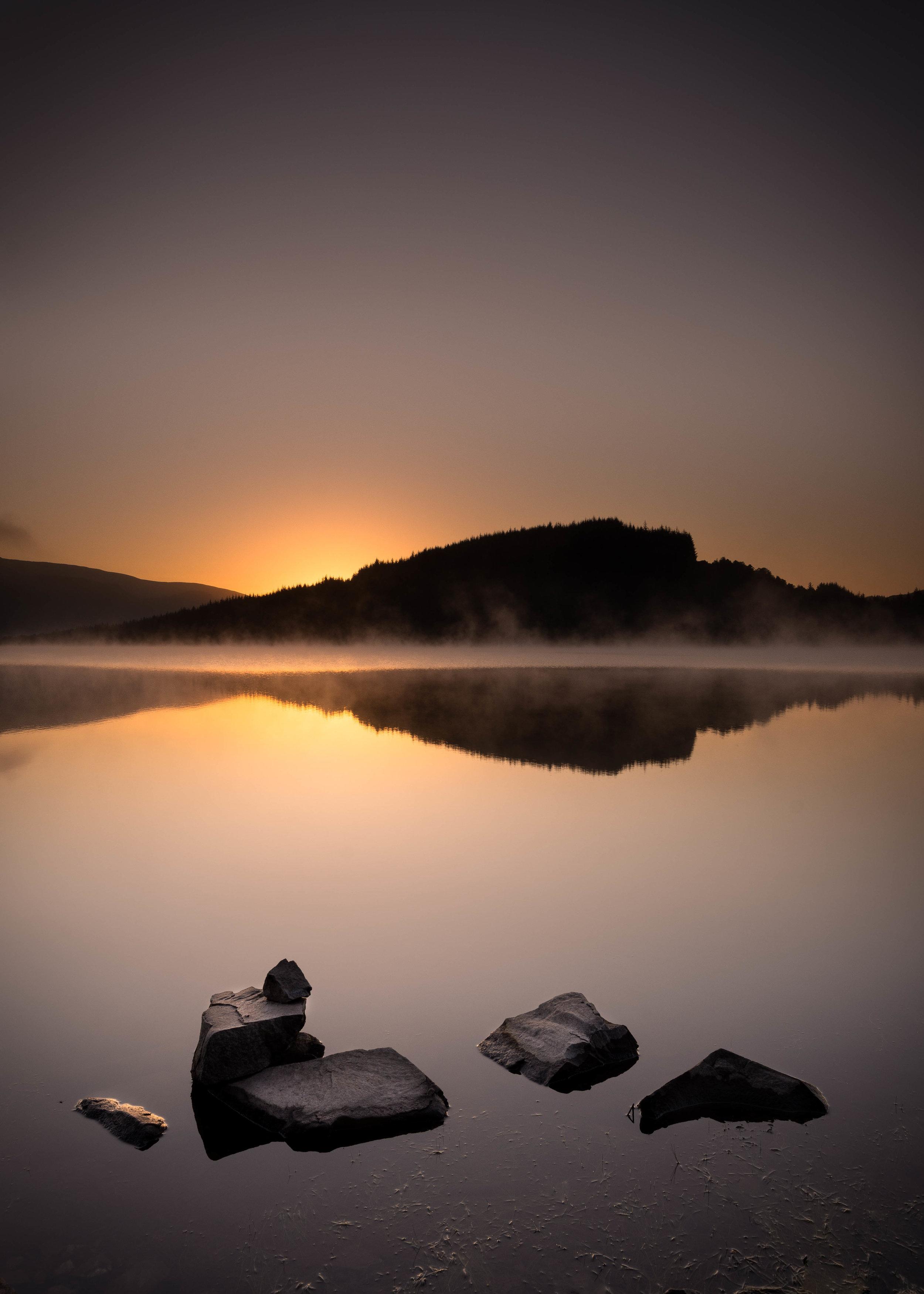 Loch Drunkie Sunrise