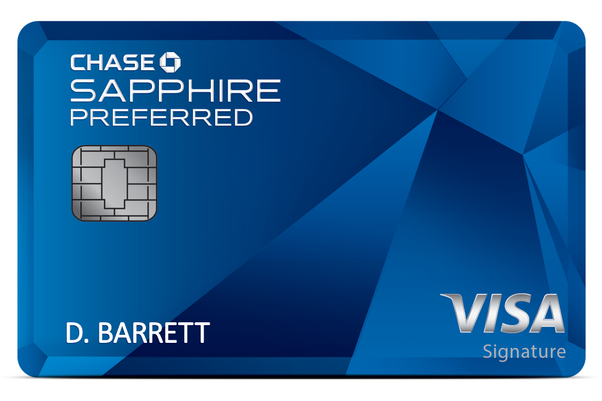 Chase Sapphire Preferred Card - DEAL OFFER: 50,000 rewards points after spending $4,000 in 3 months.ANNUAL FEE: Introductory fee of $0 and $95 after that.WHY IT'S THE SMART WAY: With the Sapphire Preferred card, you get the amazing 50,000 sign up bonus, worth $625 on travel!Click HERE to get it!