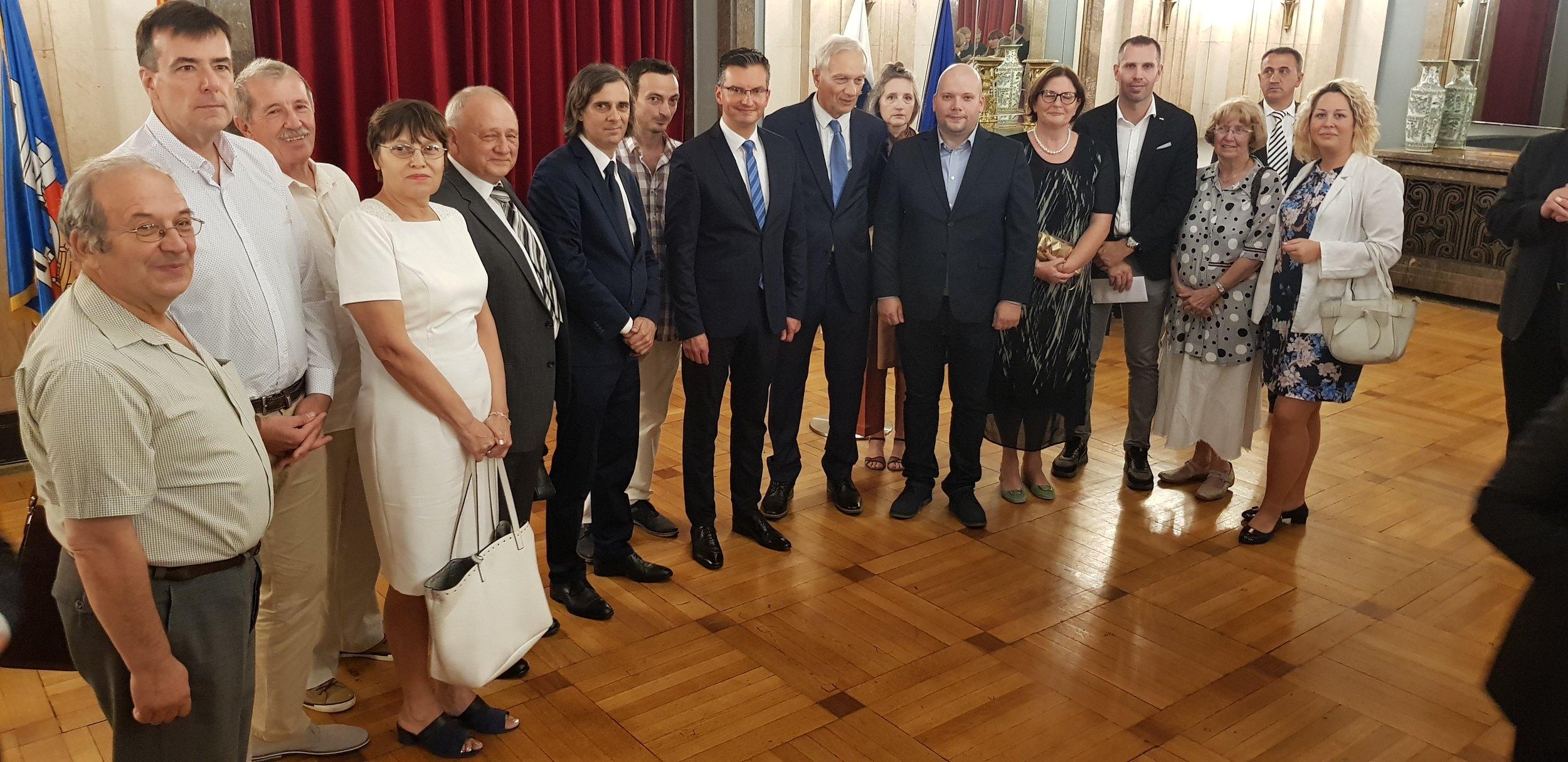 Obisk Predsednika Vlade Marjana Šareca v Beogradu